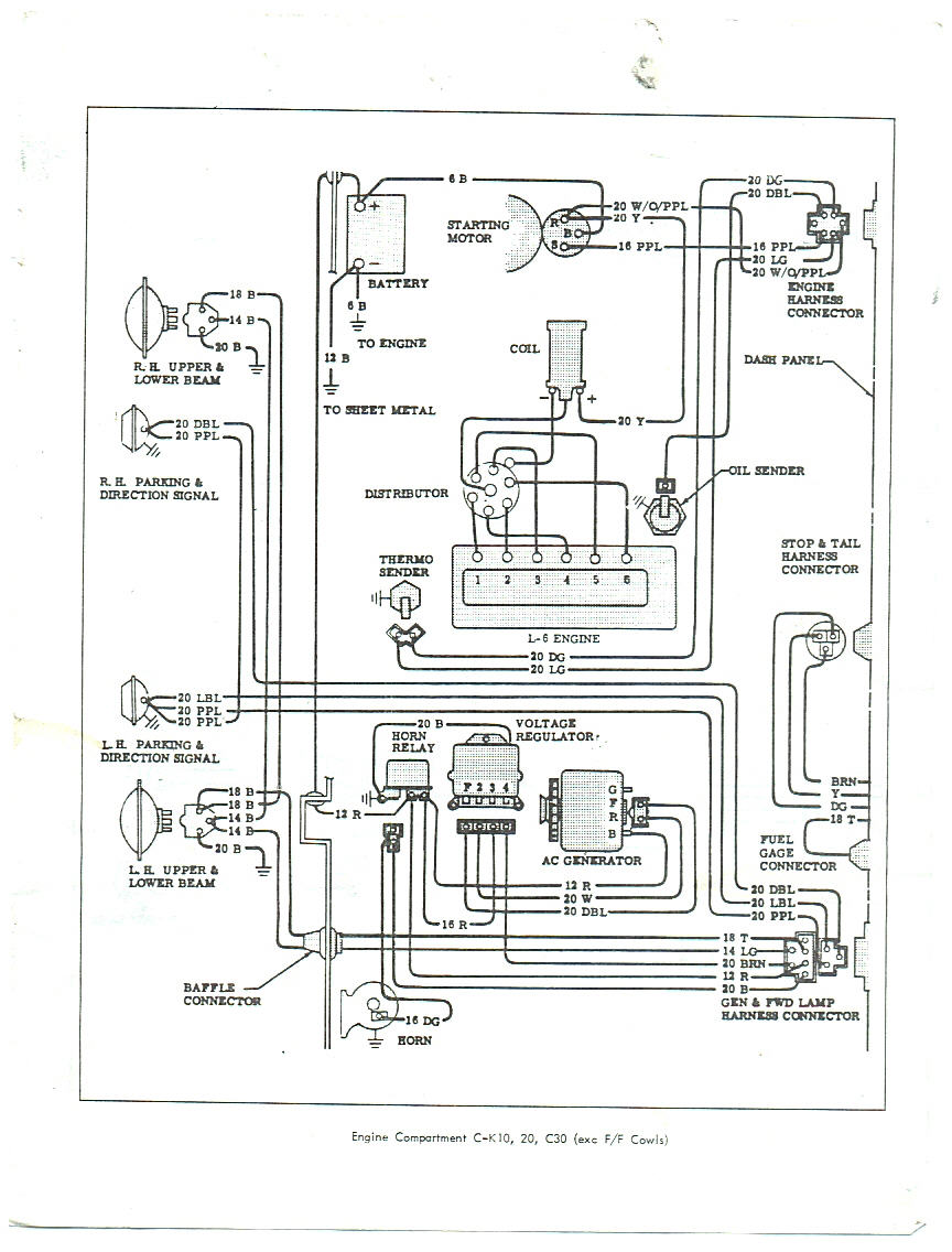 1966 Chevy Truck Wiring Diagram : 31 Wiring Diagram Images