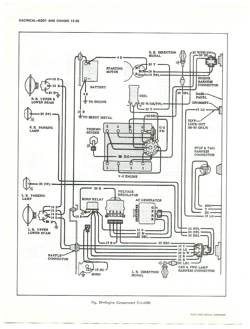1966 Chevy Truck Ignition Switch Wiring Diagram As Well