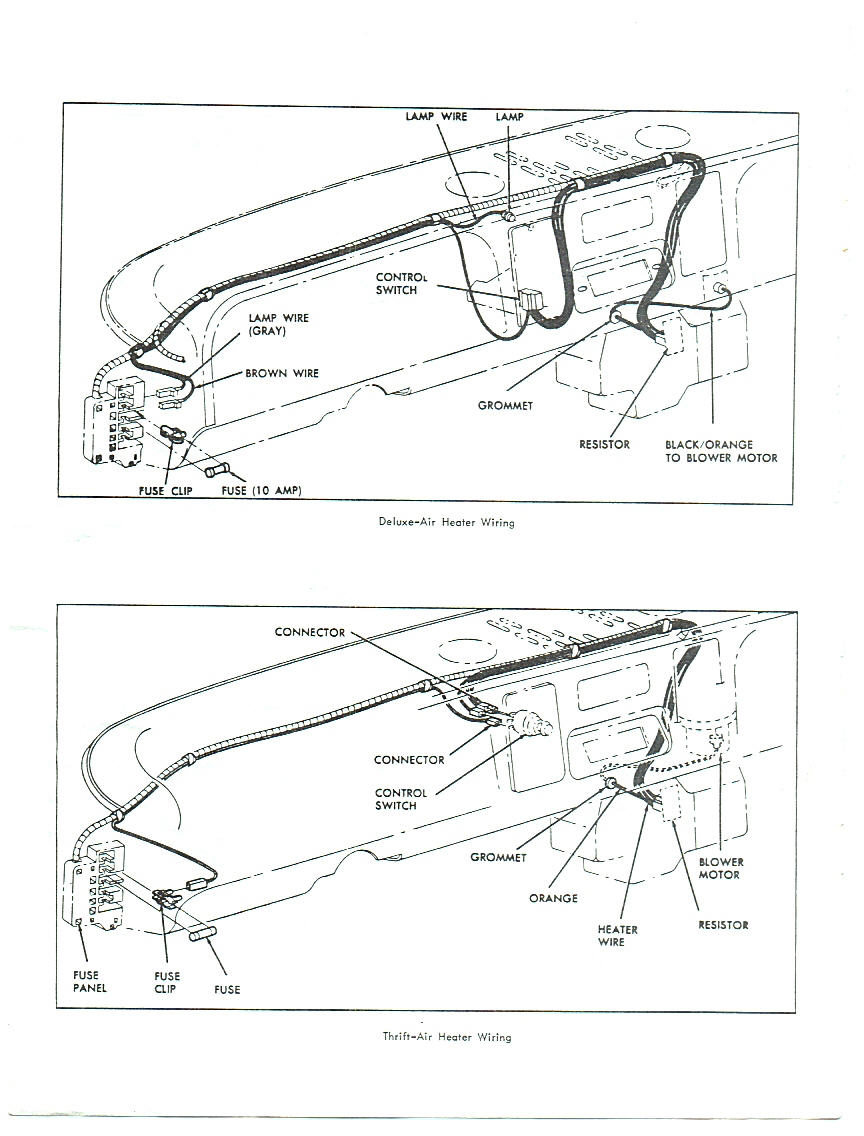 66 chevy heater wiring diagram picture