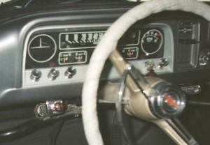Ray's Chevy Restoration Site  Gauges in a '66 Chevy Truck