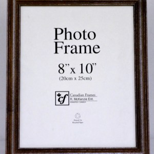 P2-125 - Canadian Collection #3 Dark Oak Photo Frame-0