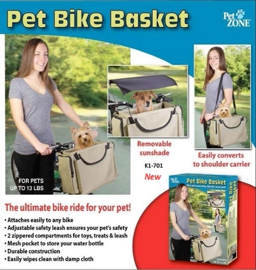K1-701 - Pet Bicycle Basket-0