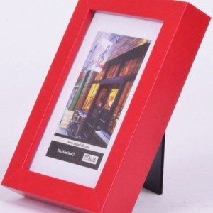 "P3-214 - 4"" X 6"" MDF Frame (Red)-0"