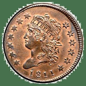 Classic Head Cent (1808 - 1814)