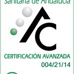 La Agencia de Calidad sanitaria en Andalucía nos concede la Certificación en el nivel avanzado