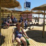 La playa, fuente de salud para los residentes