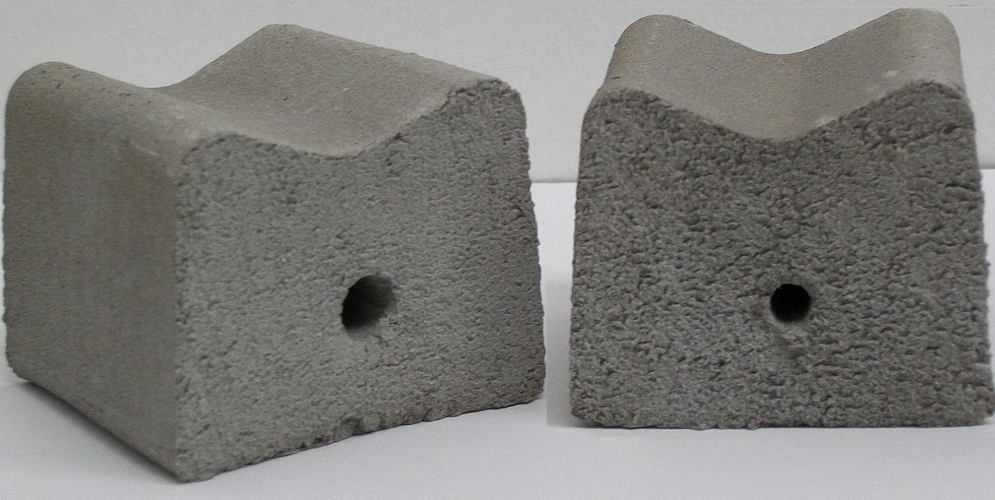 Concrete Rebar Chairs Rebar Fibre Cement Spacers Cover Blocks Concrete Rebar Spacers