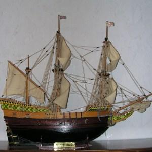 Mayflower_Modell_1