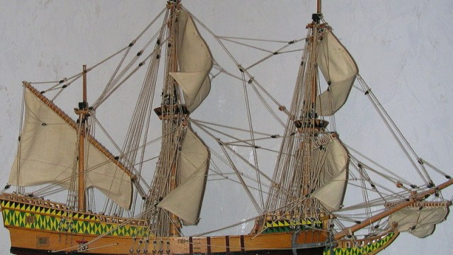 Mayflower_Modell_1