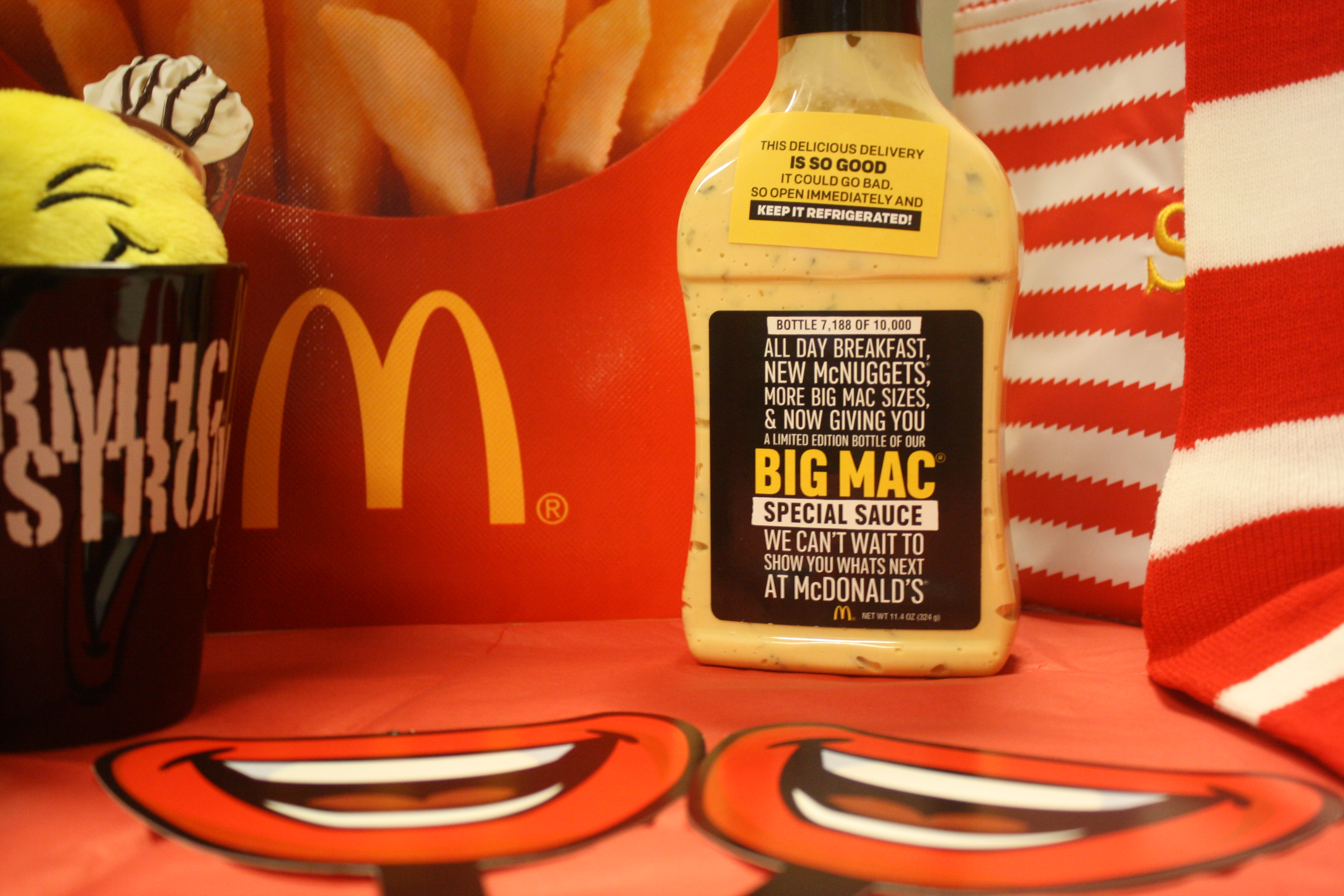 Big Mac Special Sauce for Auction to Benefit RMHC Dayton - Ronald McDonald House Charities Dayton