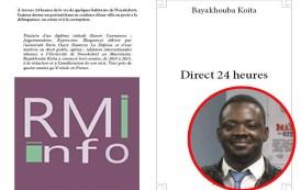 Bayakhouba Koita auteur de Direct 24 heures dans RA le 25/04/2015