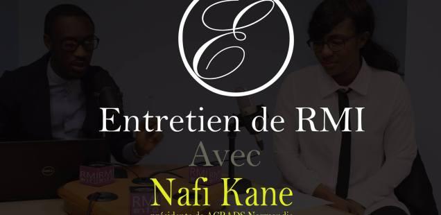 Entretien de RMI avec Nafi Kane présidente de ACRADS Normandie
