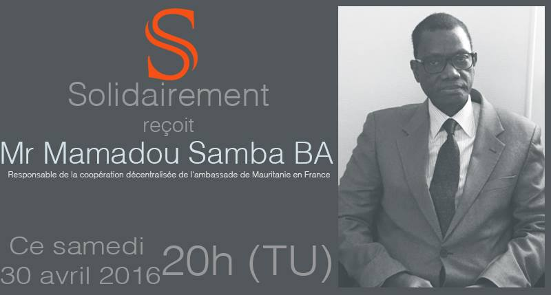 Solidairement reçoit Monsieur Mamadou Samba BA