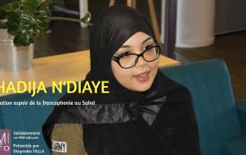 Solidairement avec Khadija N'Diaye SG de l'asso Espoir de la Francophonie au Sahel