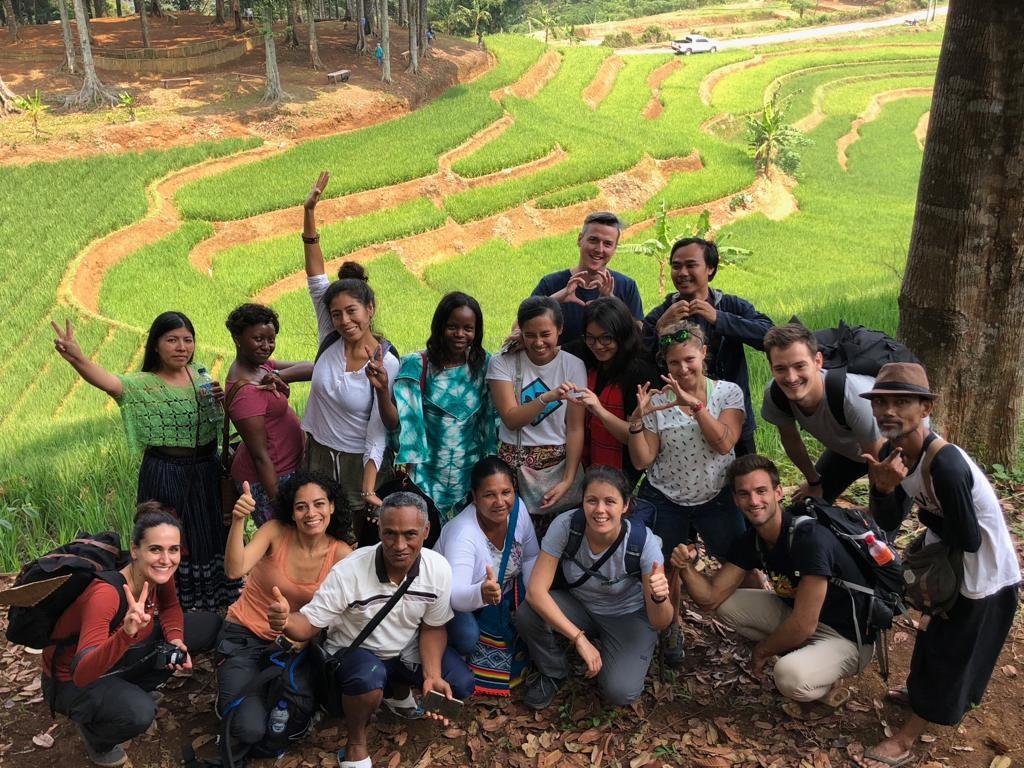 Participants of GLF Field Visit at Cepak Situ - Kasepuhan Karang Customary Forest