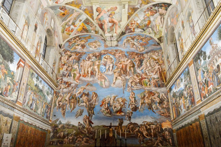 Michelangelo The Last Judgment - content creative producing process with R. Michael Brown, Freelance writer-producer