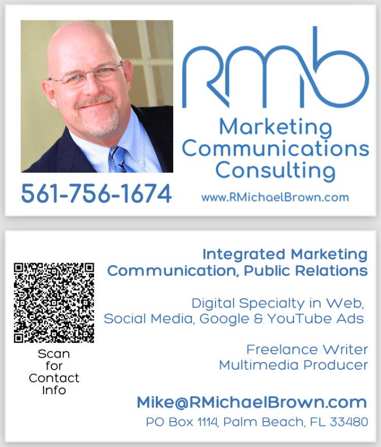 R. Michael Brown logo & identity, marketing, branding