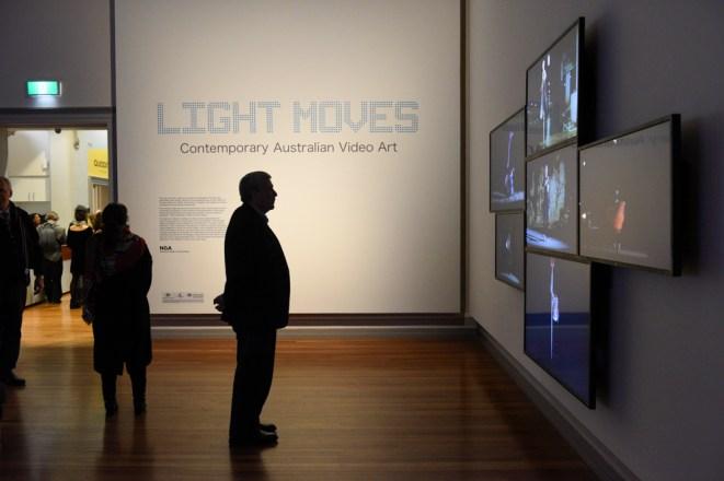 Light moves at RMIT Gallery 2016, photo by Vicki Jones Photography