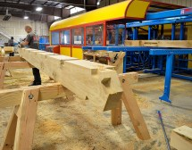 Rocky Mountain Joinery Center Precision Timber Fabrication