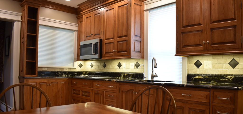 Traditional custom kitchen remodel natural wood