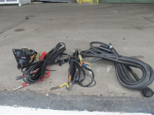 small resolution of lot of yamaha outboard single switch key 10 pin main wiring harness