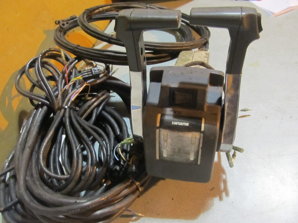 medium resolution of oem suzuki dual suzuki deluxe dual binnacle control box w wiring harness