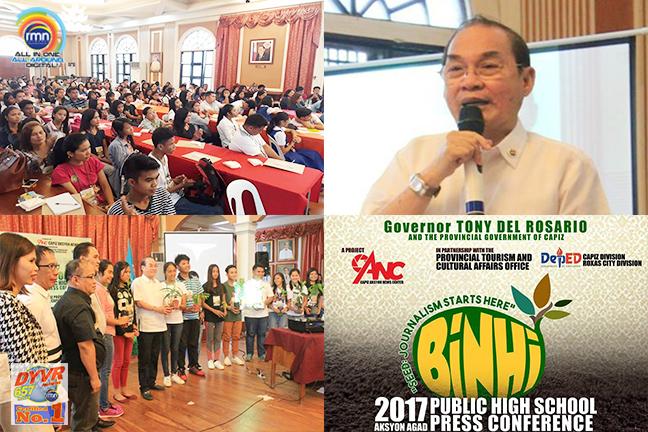 Binhi 2017 Aksyon Agad Public High School Press Conference