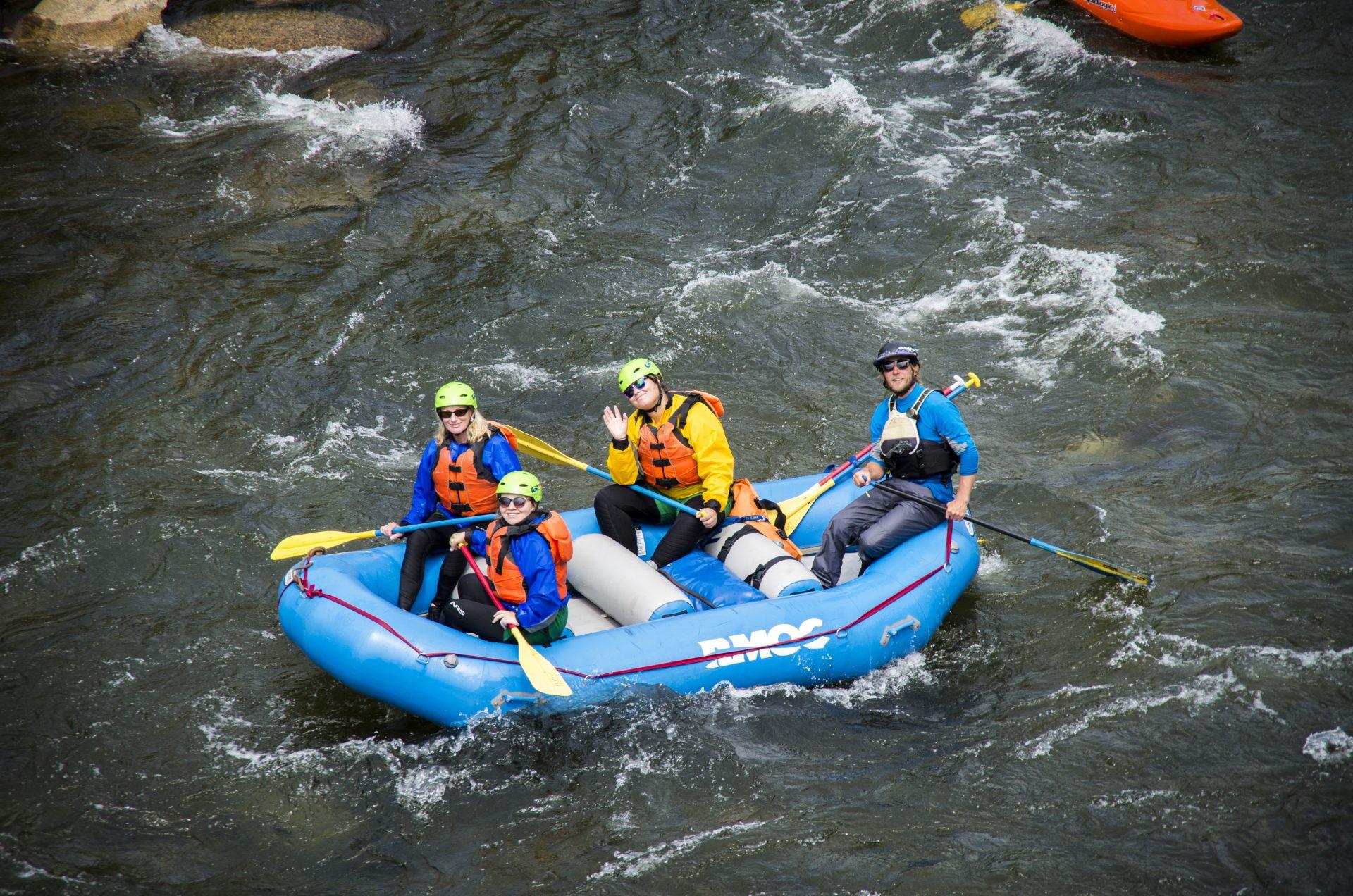 Bighorn Sheep Canyon Rafting