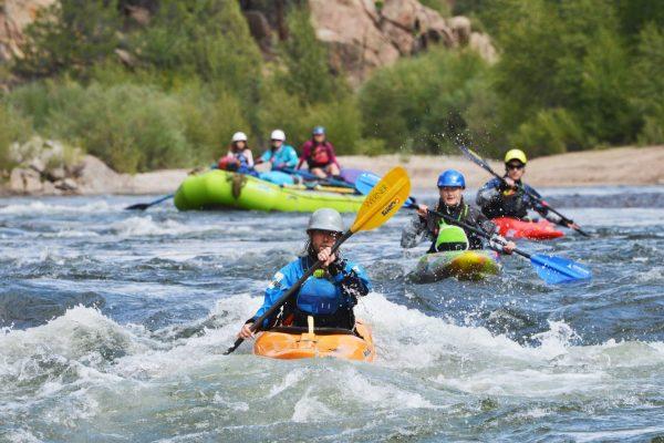 browns canyon rafting buena vista co