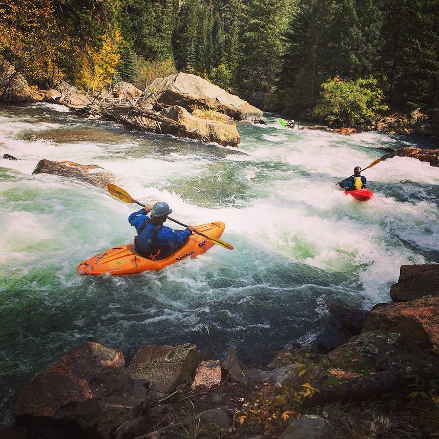 whitewater kayaking 3
