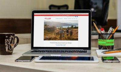 Atlas Leisure Homes caravan web site