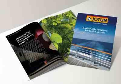 jotun paints Norway cruise coatings brochure
