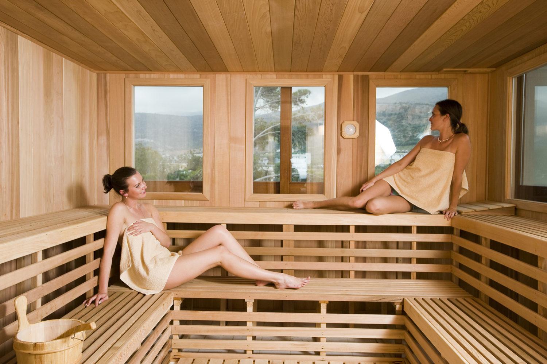 Outdoor Sauna   Rocky Mountain Pools and Spas   Calgary ...