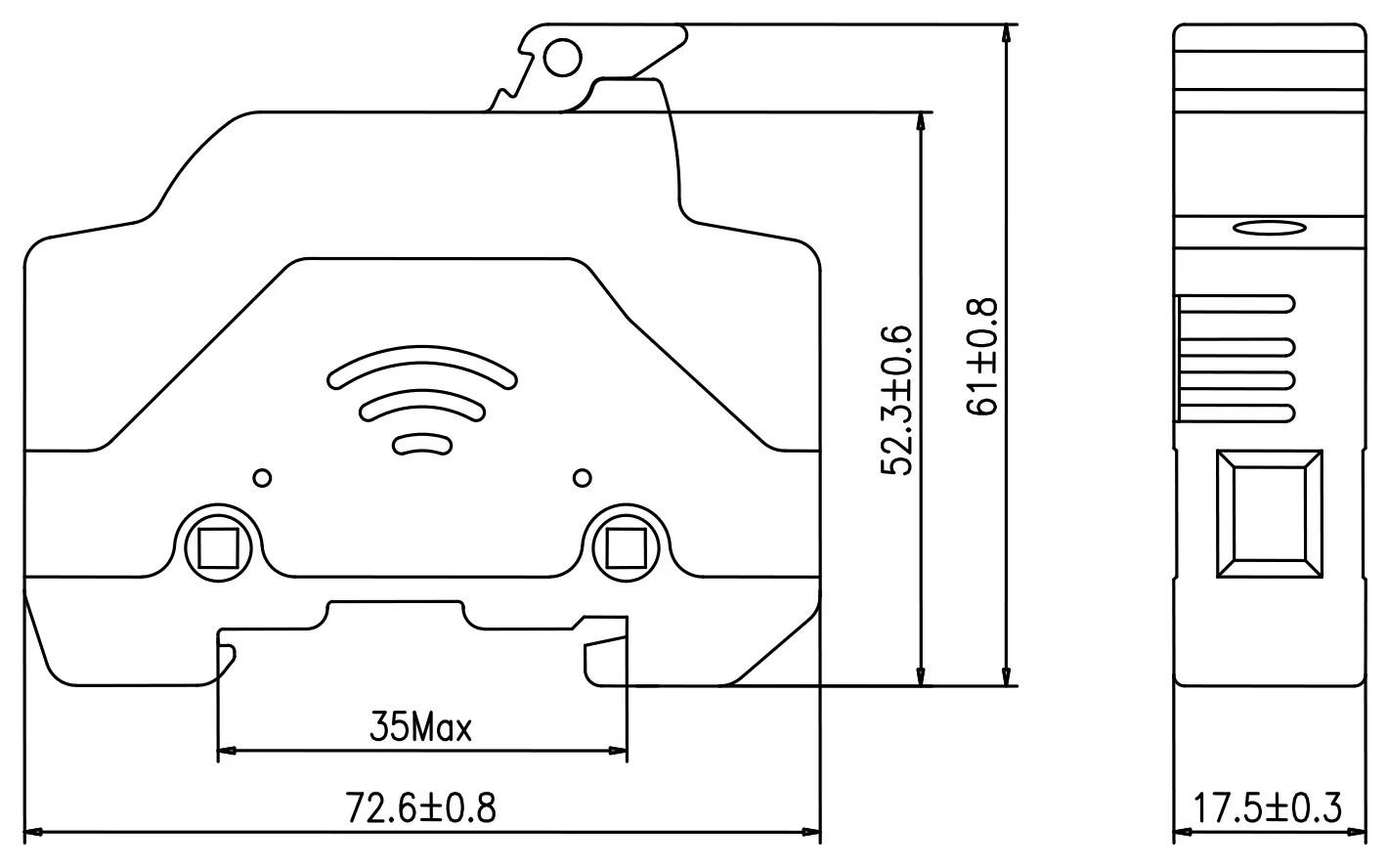 SLPV-30DN Overcurrent Protection DC Fuse of Solar