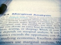 Marginal Analysis is so much fun!