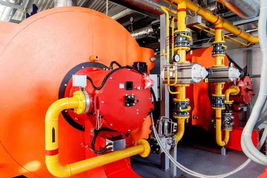 rms water industry boiler