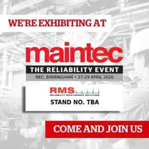 rms maintec reliability event nec birmingham 2