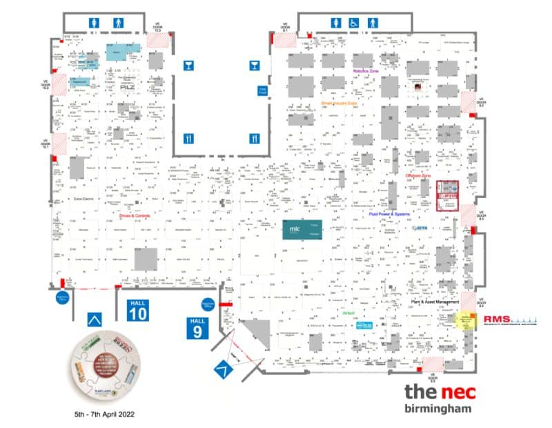 plant and asset management RMS C4 floor plan