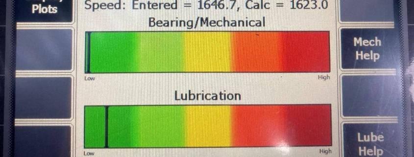 Bearing Lubrication PeakVue Plus RMS