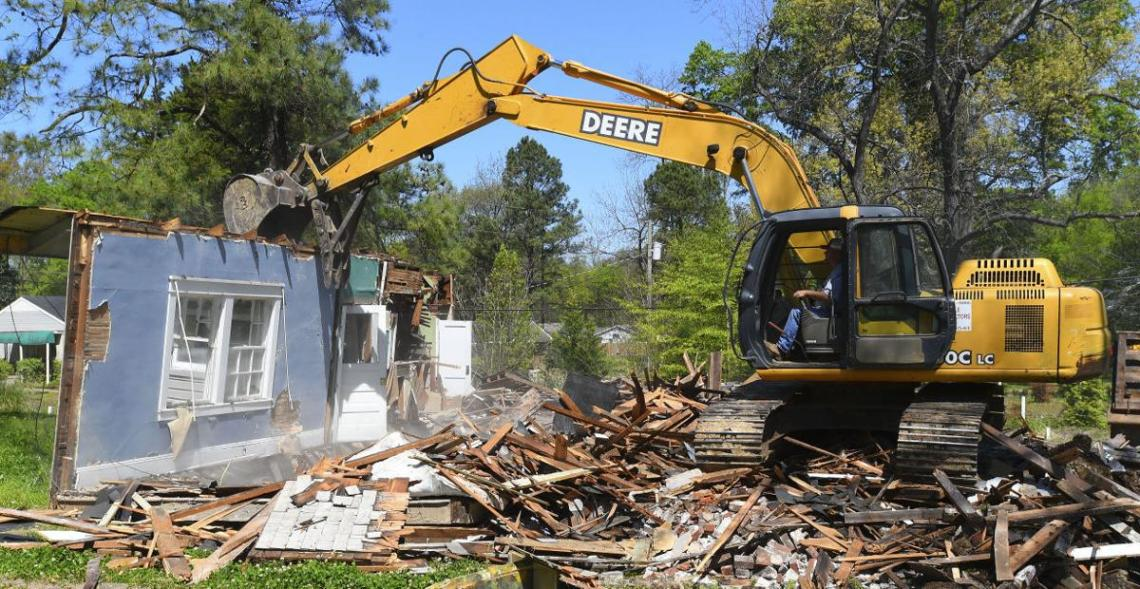 home demolition somerset middlesex edison nj