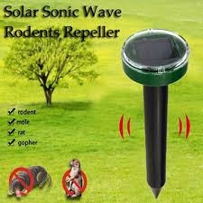 Solarni, ultrazvučni rasterivač – ZU1 (Rasterivač krtica, zmija, miševa…)