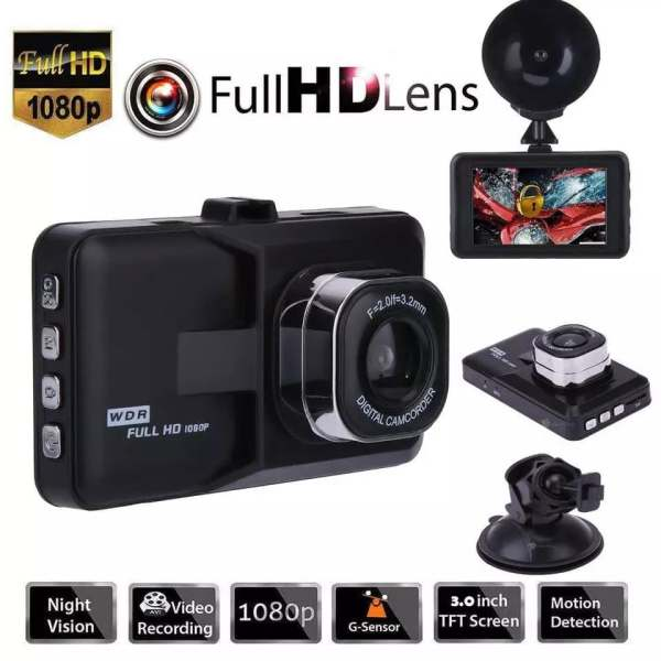 Auto kamera – Car-Dashboard DVR Camera Full HD