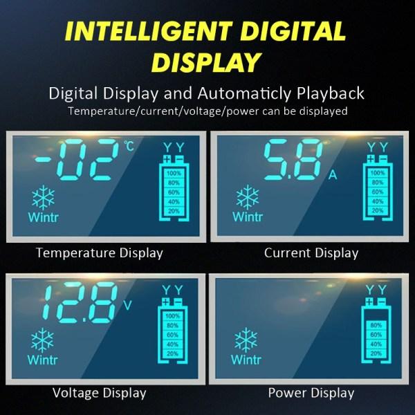 Punjač akumulatora – Intelligent smart 6A-12V