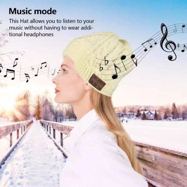 Muzička kapa sa integrisanim bluetooth slušalicama