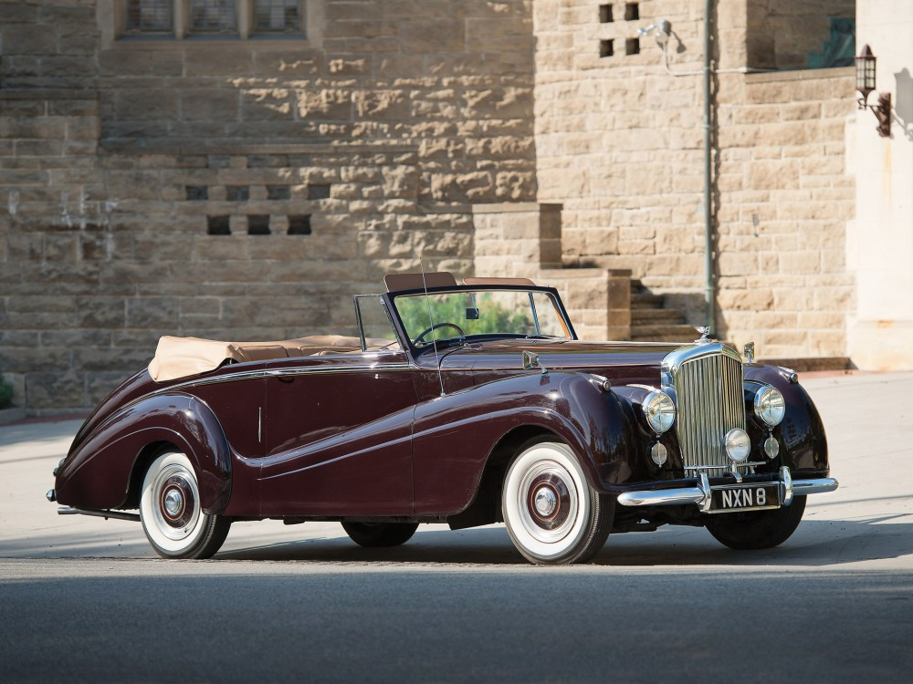medium resolution of 1953 bentley r type drophead coupe by park ward