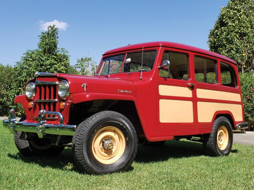 medium resolution of 1955 willys 4 wheel drive station wagon