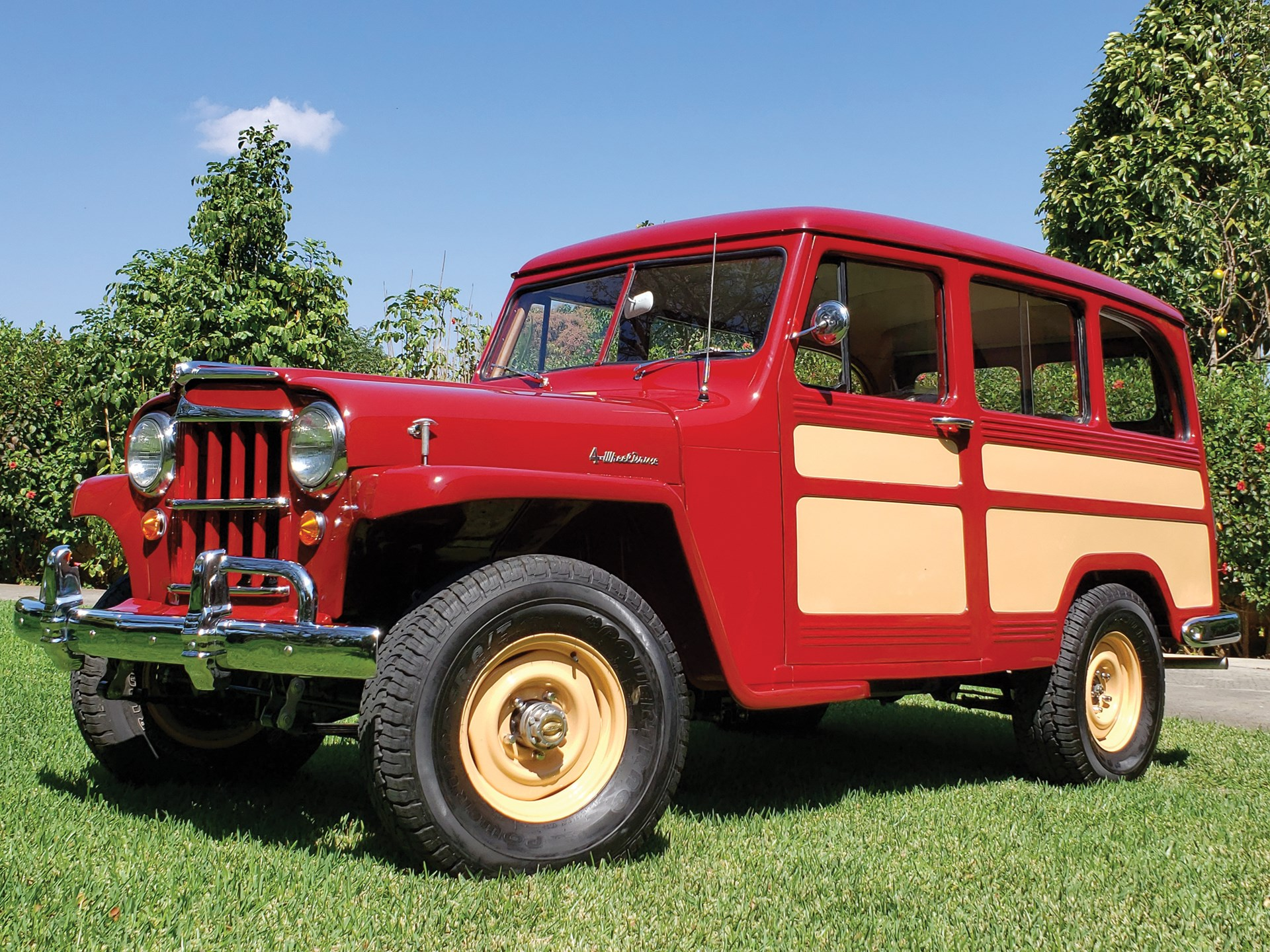 hight resolution of 1955 willys 4 wheel drive station wagon