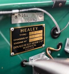 1954 austin healey 100 special test recreation [ 1920 x 1440 Pixel ]