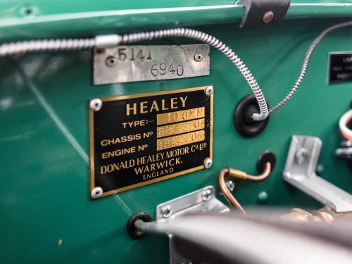 small resolution of 1954 austin healey 100 special test recreation