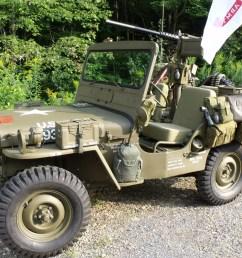 1952 willys m38 korean war military jeep [ 1920 x 1440 Pixel ]